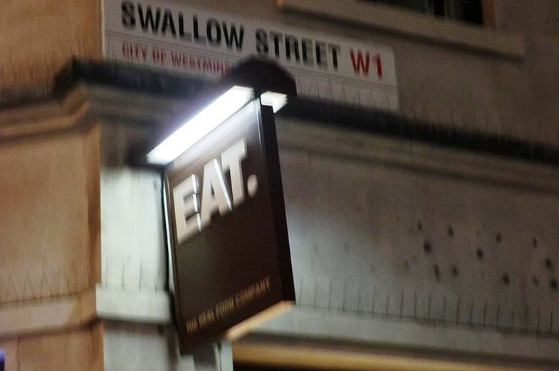 Еда в Лондоне