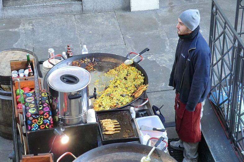 Уличная еда в Ковент-гардене. Тай-тай-налетай!
