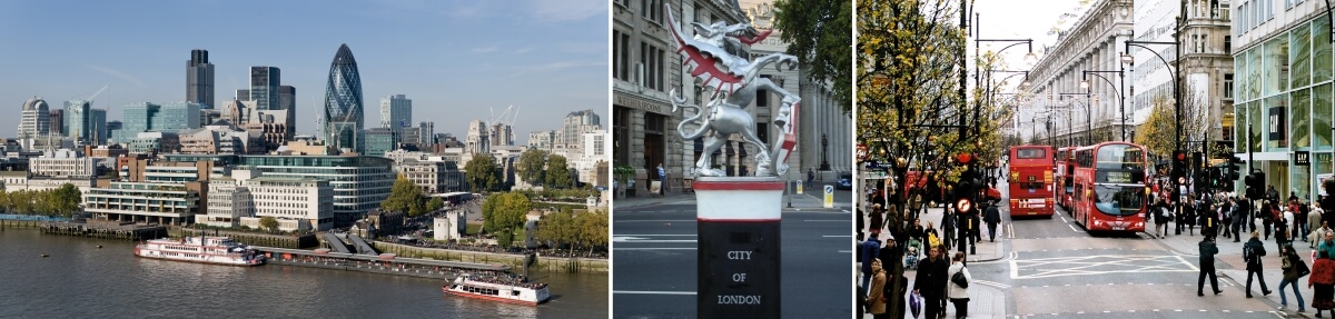 Автомобильная экскурсия - Лондонский Сити