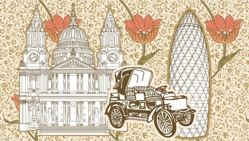 Автомобильная экскурсия по Лондону
