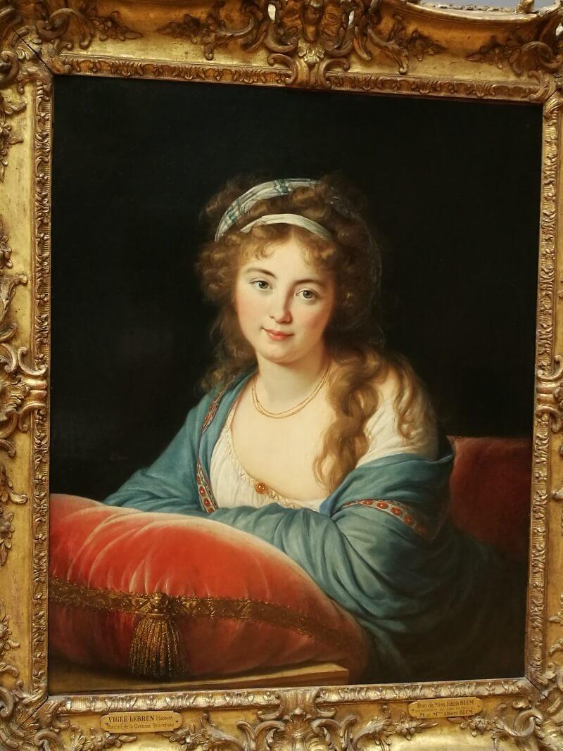 Национальная Галерея - портрет Виже ле Брюн