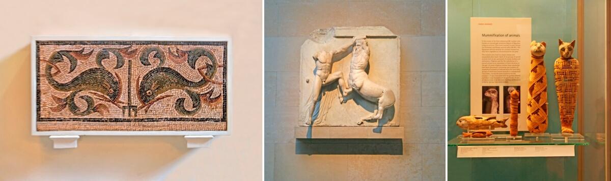 Экскурсия с гидом в Британский музей в Лондоне