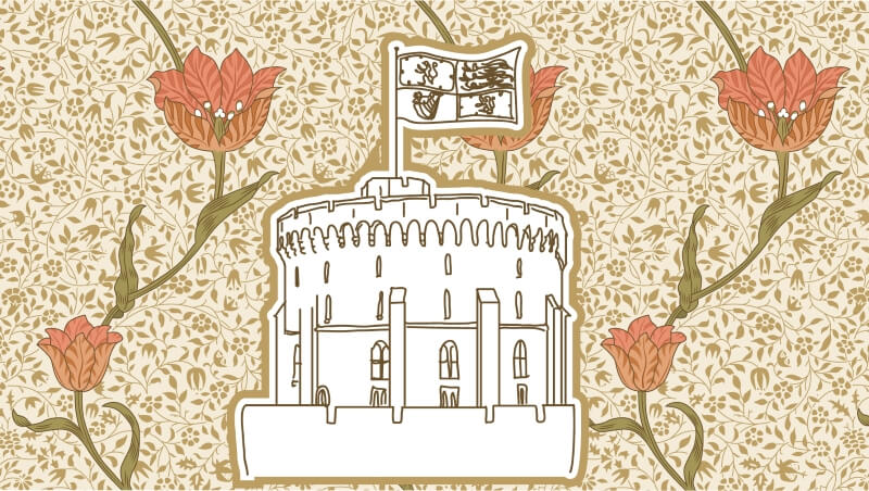 Виндзорский замок, Англия