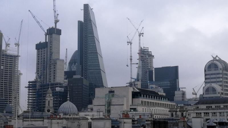 Вид Лондонского Сити
