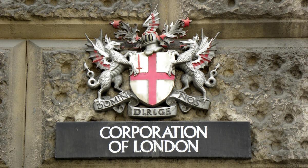 Герб корпорации Сити в Лондоне