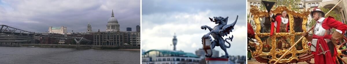 Прогулка с гидом по лондонскому Сити
