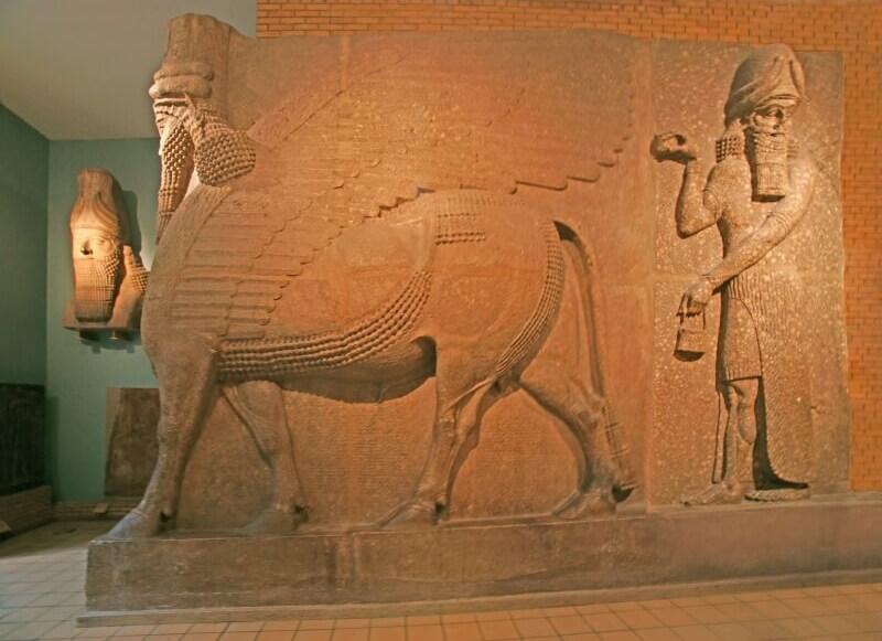 Британский музей - Месопотамия Ламассу